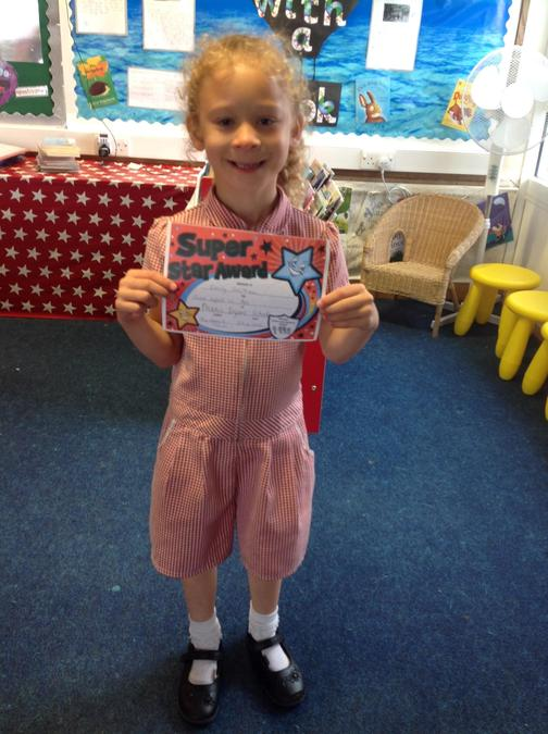Super effort in Art this week Emily, well done!