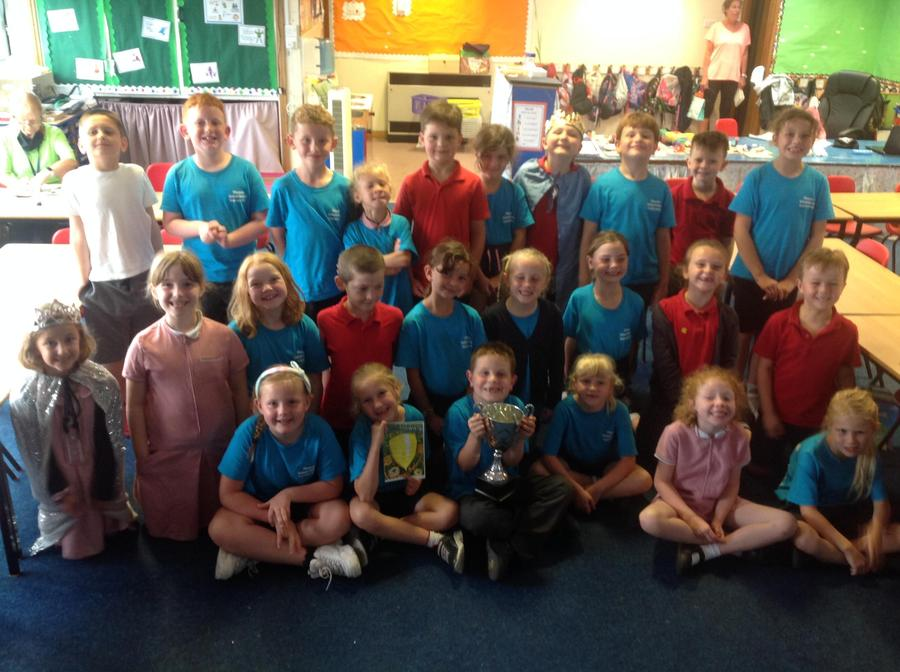 Class 5 you are superstars!! Keep up all your hard work in Year 3!