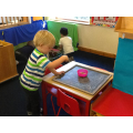 Chalks and chalk boards