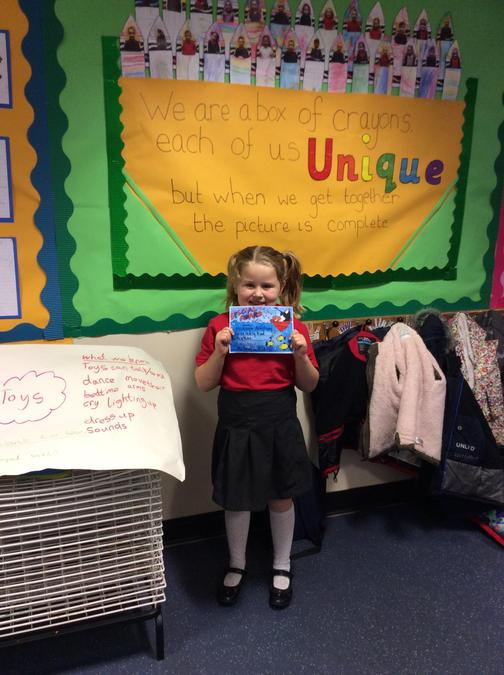 Mickayla has shown great kindness to others and for that she gets the Special award.