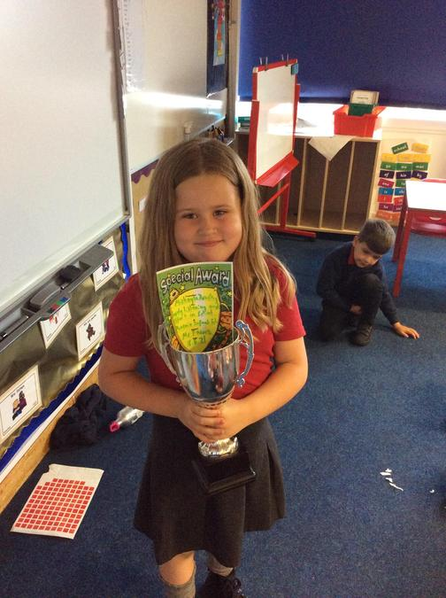 Great behaviour all week from Mickayla, you are trying so hard.