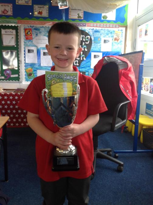 Well done to Logan for your super learning attitude!