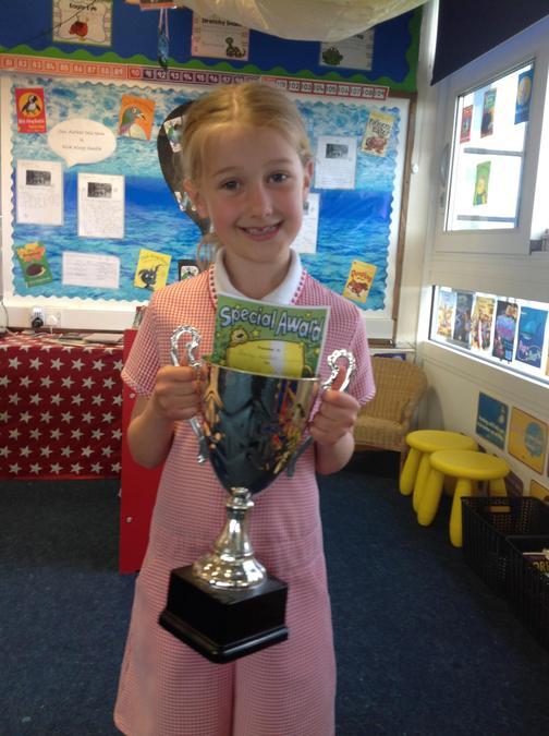 Well done to Emily for being so kind to others!