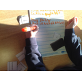We cut the conjunctions out so that we could see if they would make sense in our sentence.