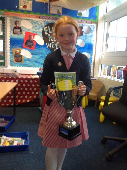 Well done Tilly, you are a total superstar!