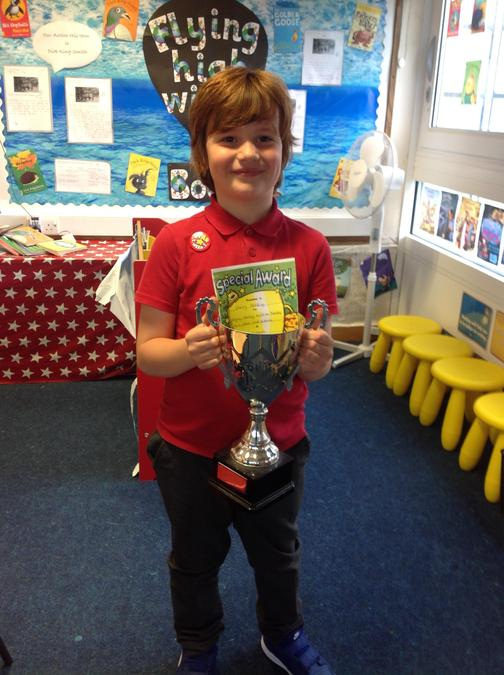Fantastic work this week Harry! Well done!