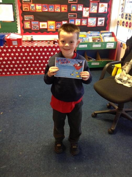 Logan did some wonderful writing this week, what a star!