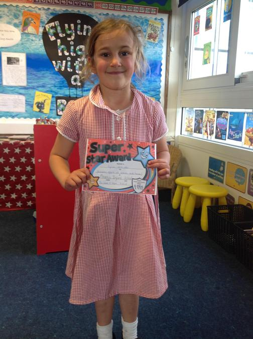 Fantastic work this week Lyla! You have worked so hard!