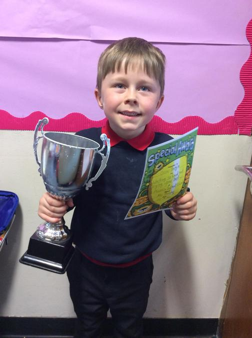 Well done Oscar for such hard work in all subjects.