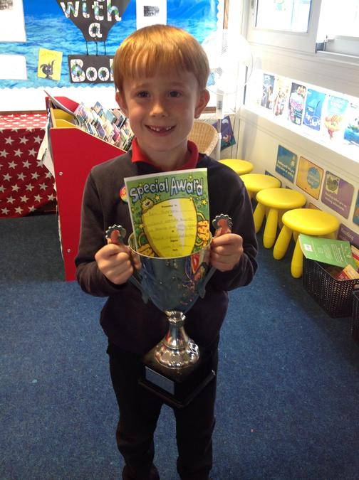 Well done Ben for your fantastic attitude towards your learning!