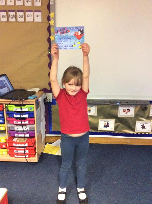 Some lovely work in phonics this week from Laylah, your writing is really coming along.
