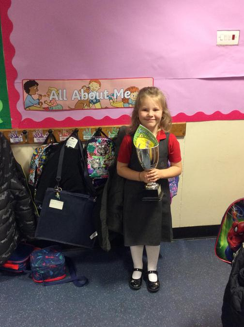 Luna gets the trophy for a brilliant attitude and always having a smile on her face.