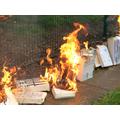 Flames getting bigger