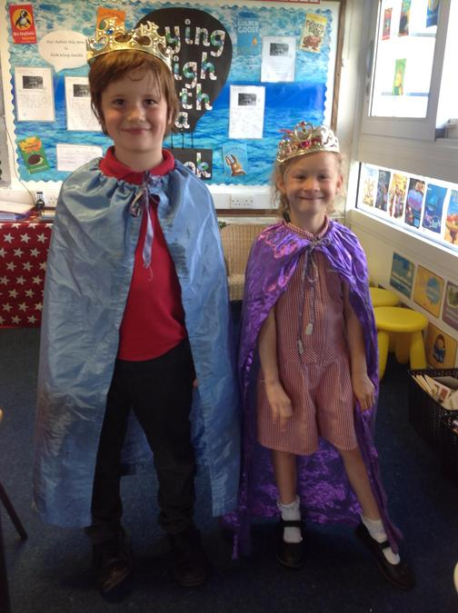 Well done Harry and Emily for finishing your sticker charts!