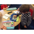 Making marks on magnetic boards