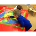 Gross motor big lines and circles