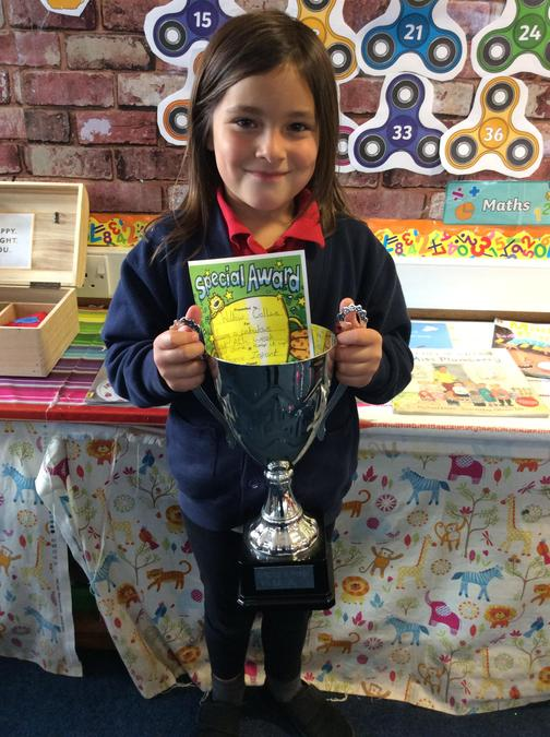Well done Willow keep it up!