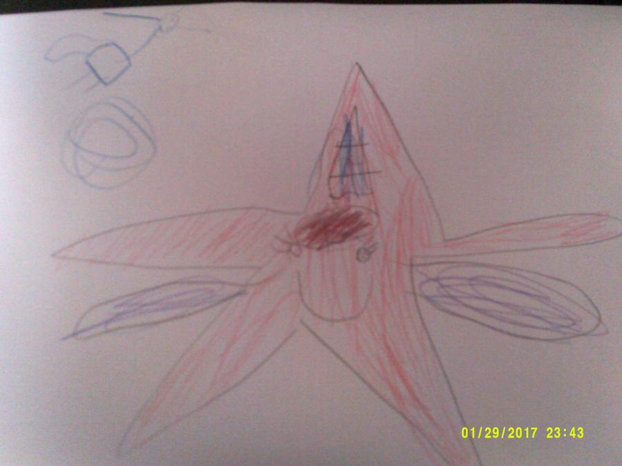 Evie loves stars, unicorns and mermaids