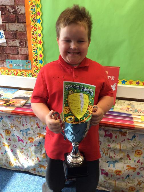 Leo for all his hard work and focus in the classroom.