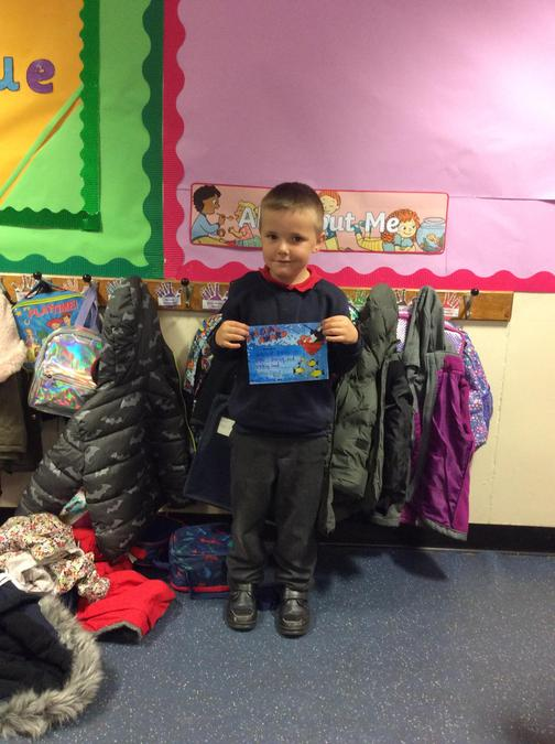 Well done Leyland, you have been a super listener and worked really hard.