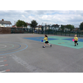 Orienteering using cones as markers