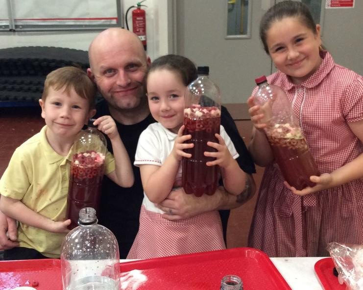 A science week family affair!