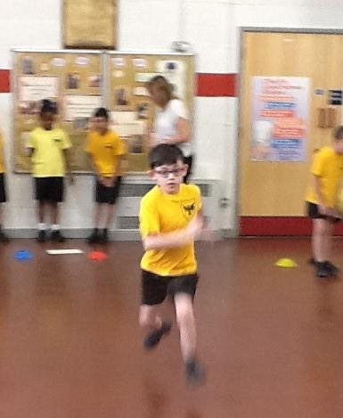 All children did some circuit training.