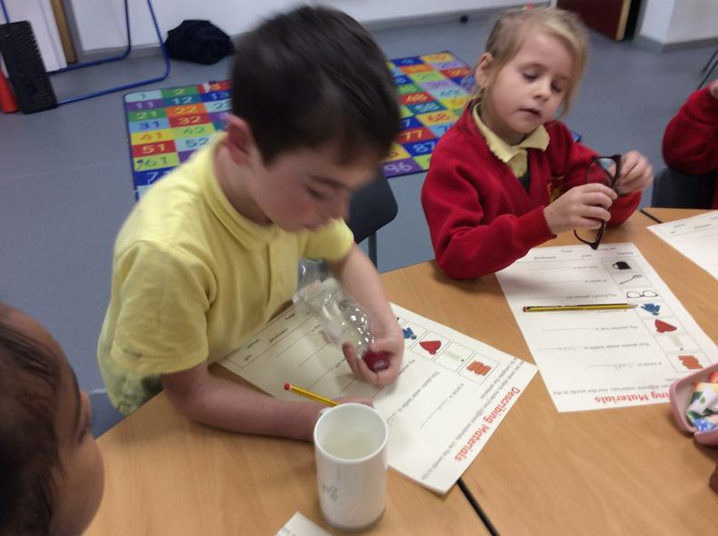Looking at the uses of everyday materials.