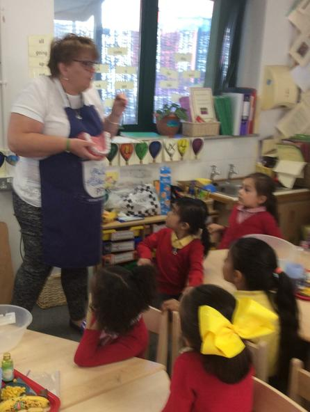 "Reception wanted to make ""poo"" in science week."