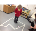 Coding and spheros in Class 7.
