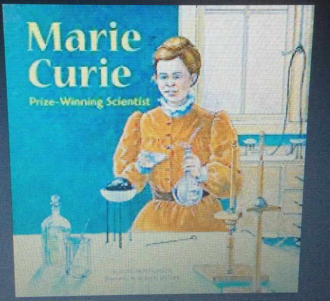 A famous female scientist. Read away!