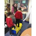 Measuring footsteps