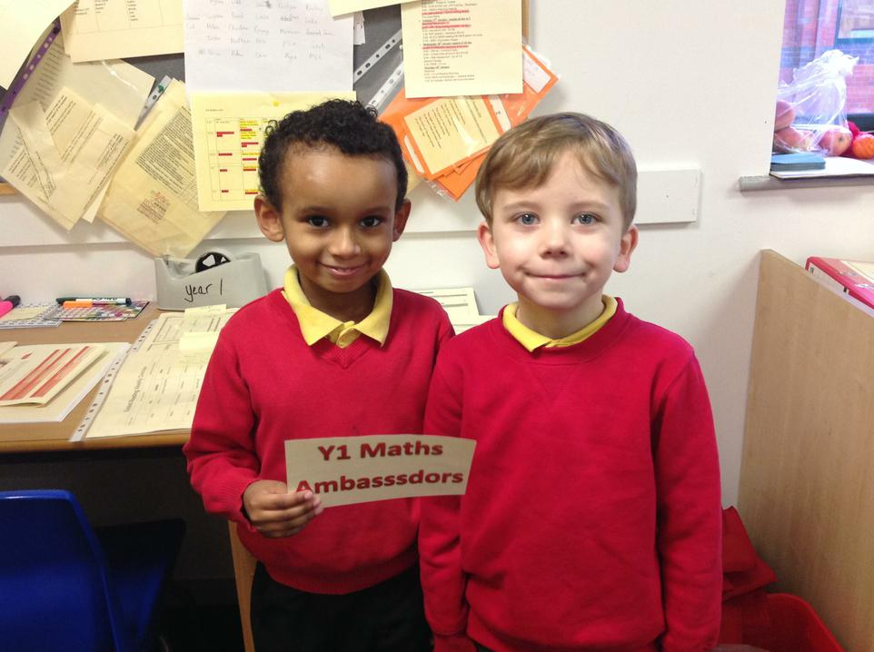 Christian & Sam in Y1