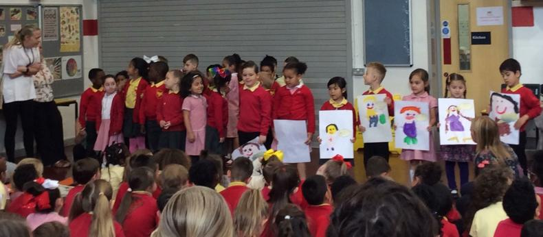 Celebration assembly-what a week.