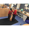 Exploring different instrumental sounds: playing the harp