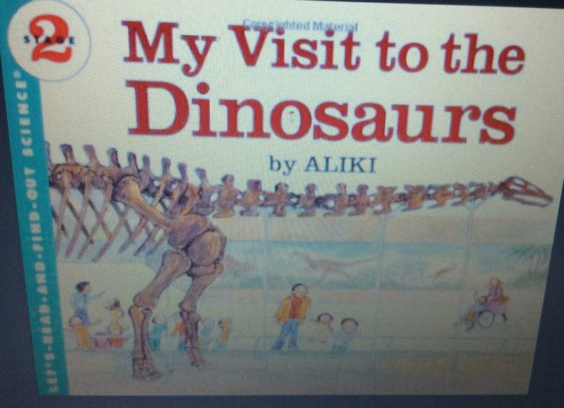 A visit to a museum to explain dinosaurs.