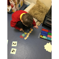 Some of us are learning to count and match objects, numerals and arrays within 5