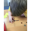 Recognising coins
