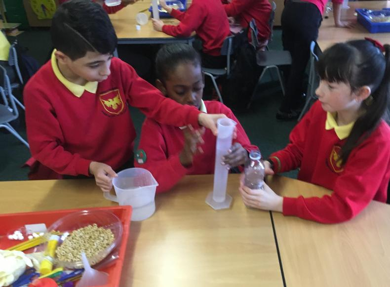 Y6 make blood with our Rising stars guests.
