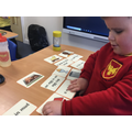 reading and matching labels