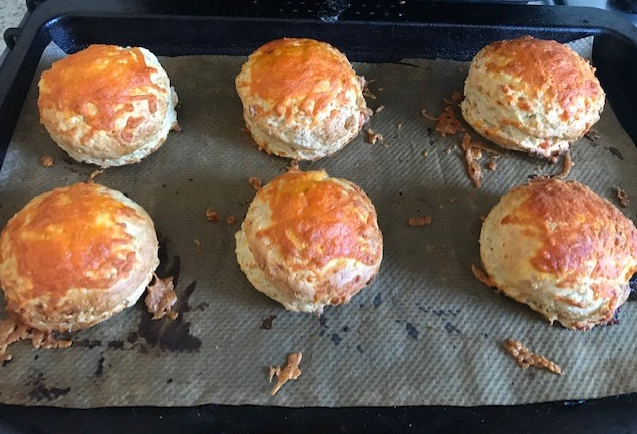 Lauren's cheese scones