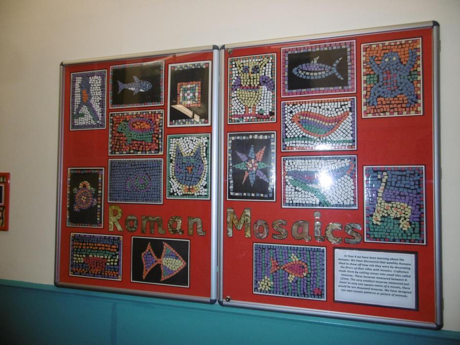 Y4 Roman mosaics