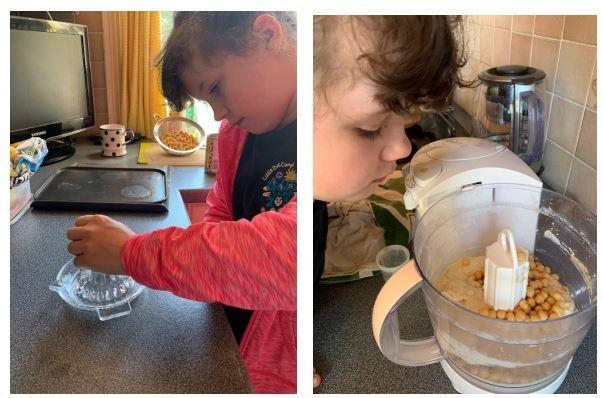 Zara enjoyed learning and cooking with pulses!