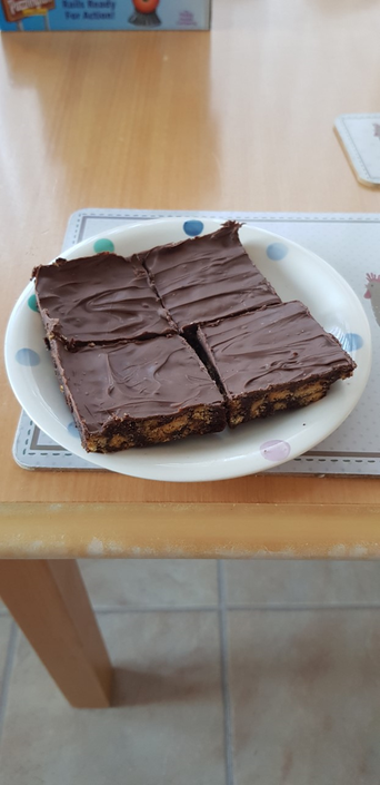 Sophie's chocolate tiffin!