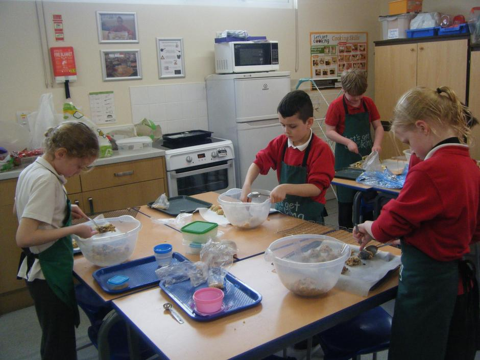 Year 4 rock cakes