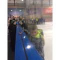 Peacocks Skating!