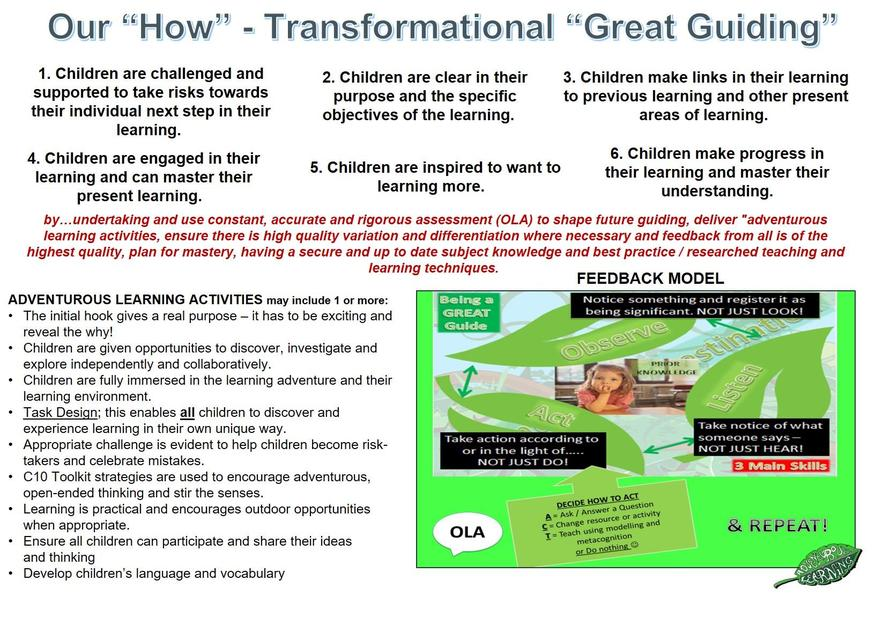 Great Guiding (Quality of Education)