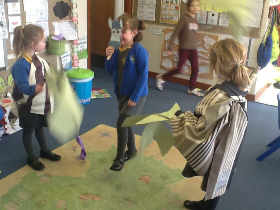 Acting out Palm Sunday