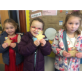 Children In Need themed snack