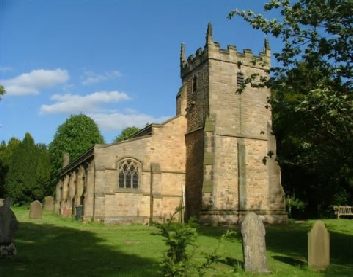 St Anne's Church, Beeley